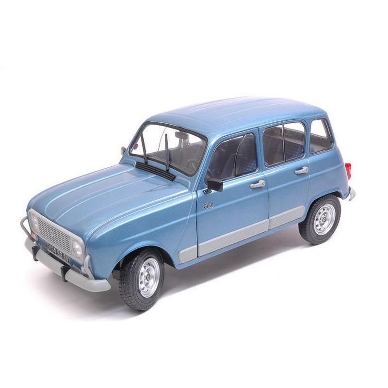 Solido S1800107. 1/18 Renault 4L GTL Clan 1989 Azul