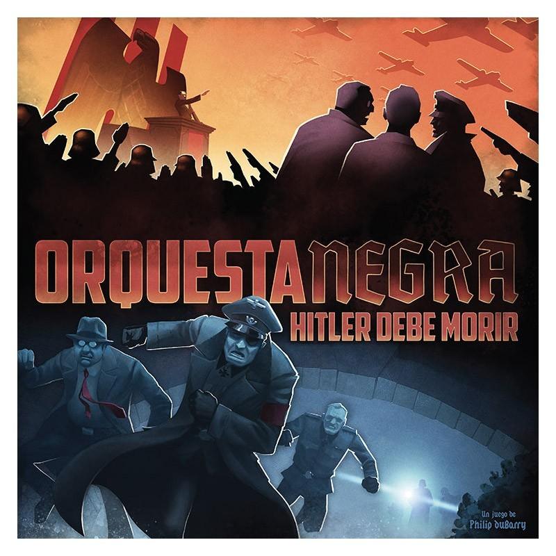 Asmodee 19001. Orquesta Negra: Hitler debe morir