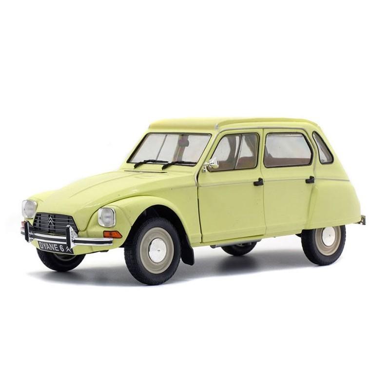 Solido S1800306. 1/18 Coche Citroën Dyane 6 1967 Amarillo Claro