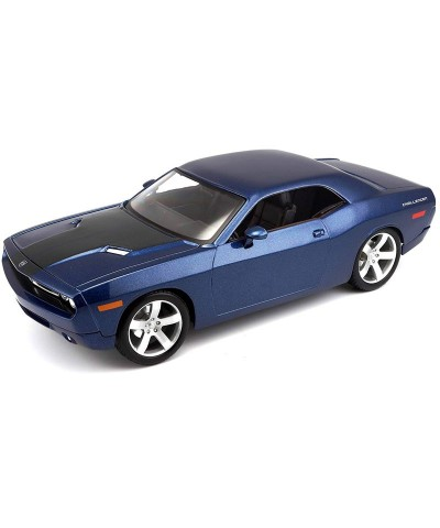 Maisto 39138B. 1/18 Coche Dodge Challenger Azul