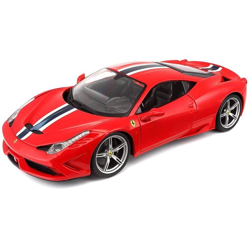 Bburago 16002. 1/18 Coche Ferrari 458 Speciale Rojo