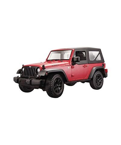 Maisto 31676R. 1/18 Coche Jeep Wrangler Rojo 2014