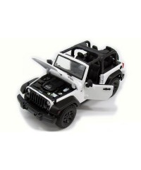 Maisto 31610W. 1/18 Coche Jeep Wrangler Blanco 2014