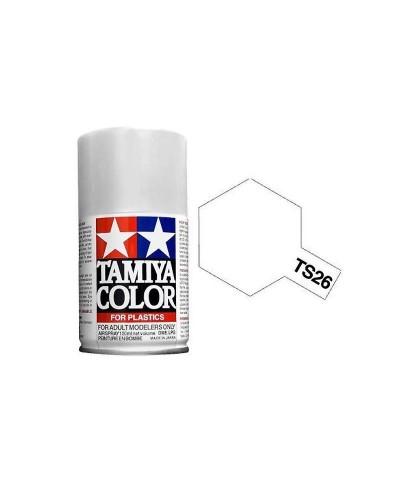 Tamiya 85026. Spray TS-26 Pintura Esmalte Blanco Puro