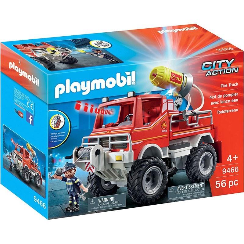 Playmobil 9466. Todoterreno Bomberos