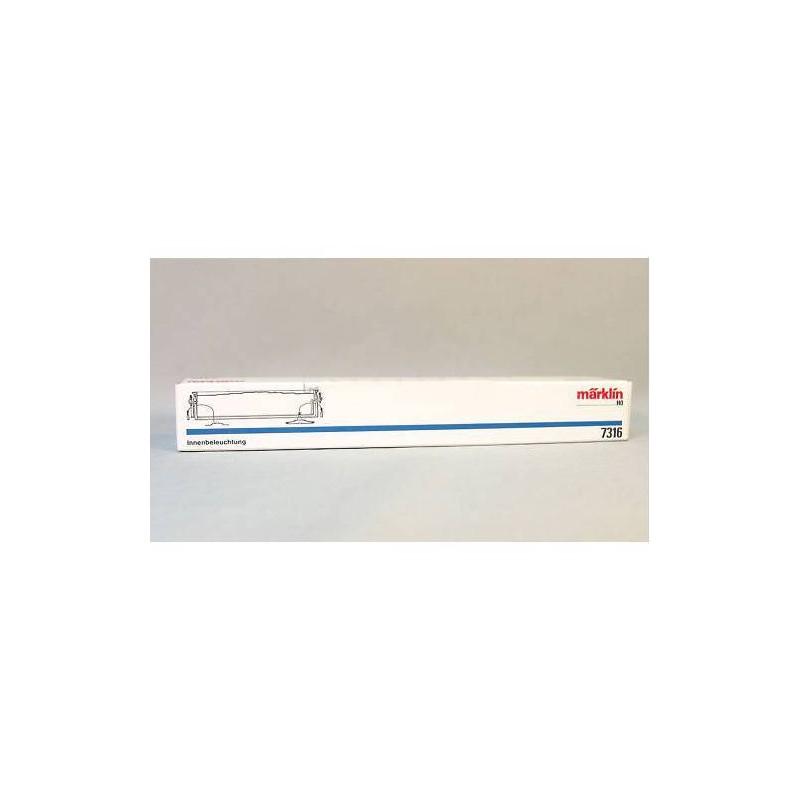 7316. Marklin Kit de iluminacion para vagones Panoramico