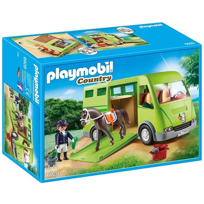 Playmobil 6928. Transporte de Caballo