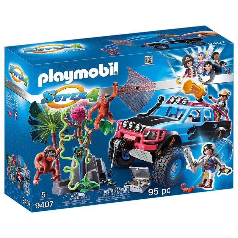 Playmobil 9407. Monster Truck Alex y Rock Brock