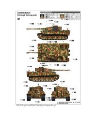Trumpeter 9539. 1/35 Pz.Kpfw.VI Ausf.E Sd.Kfz.181 Tiger I