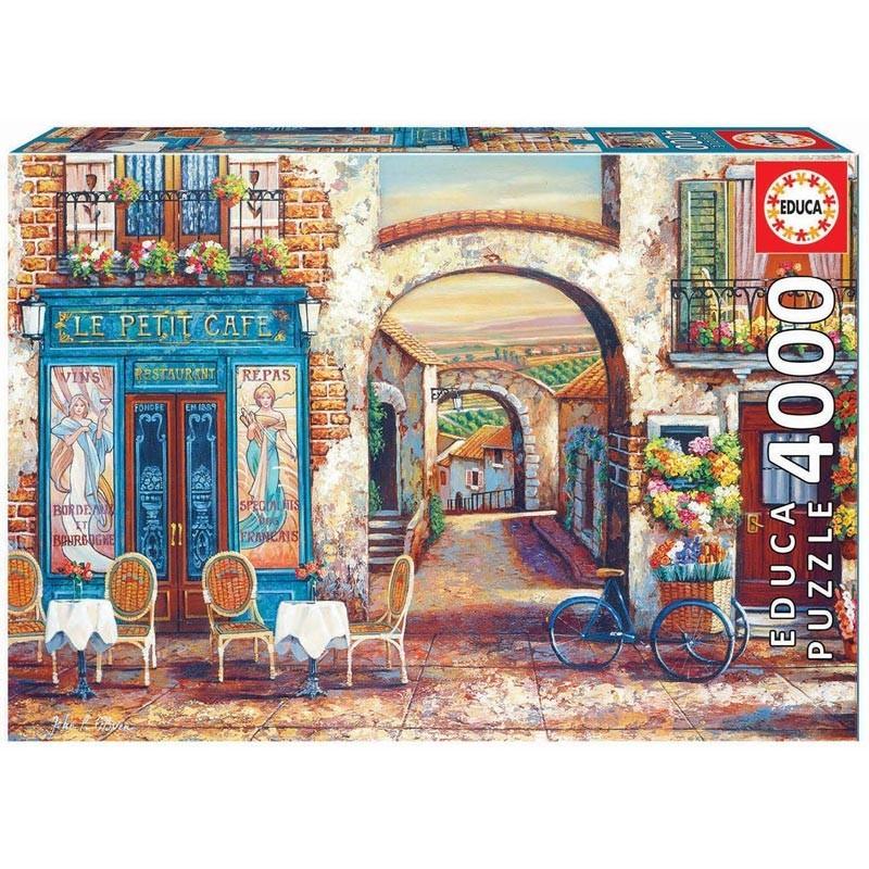 Educa 18014. Puzzle 4000 Piezas Le Petit Café