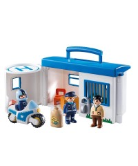 Playmobil 9382. Comisaría Policía Maletín