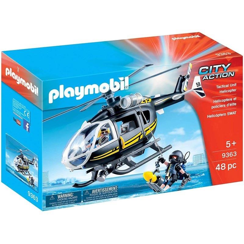 Playmobil 9363. Helicóptero de las Fuerzas Especiales