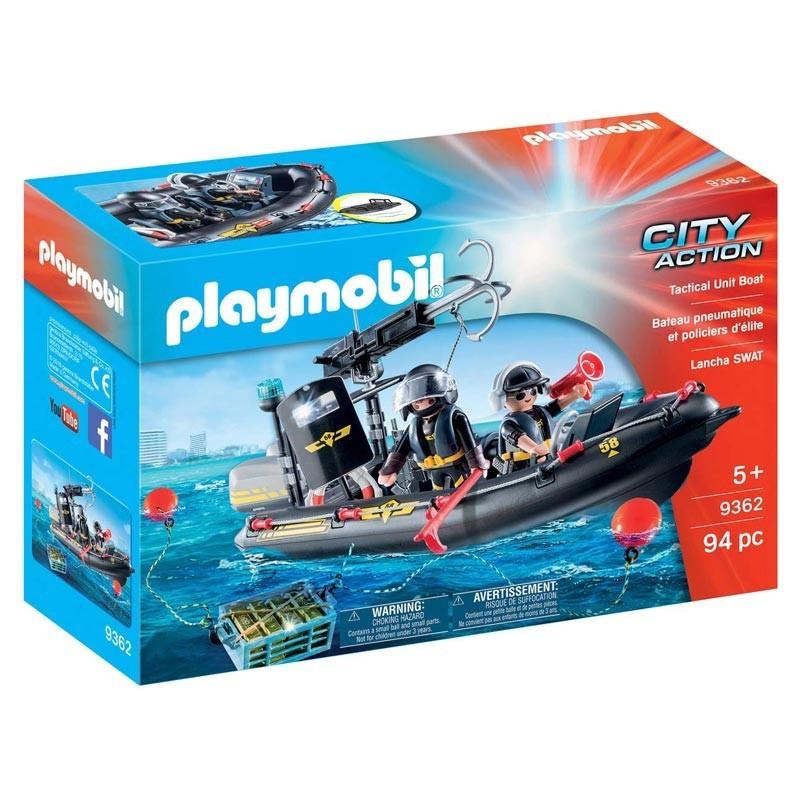 Playmobil 9362. Lancha Fuerzas Especiales
