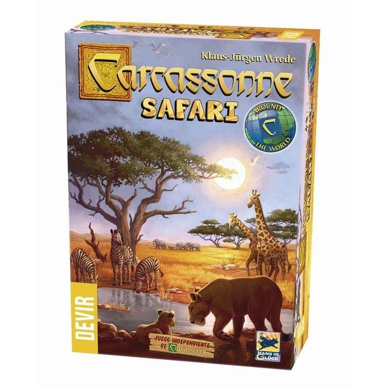 Devir BGCARSA. Carcassonne Safari