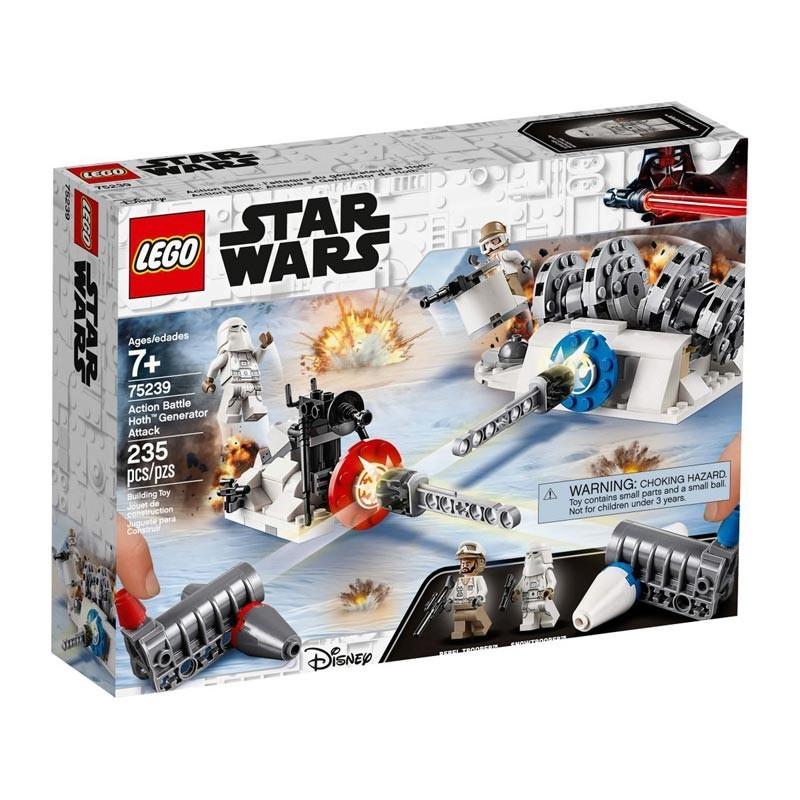 Lego 75239. Ataque al Generador de Hoth