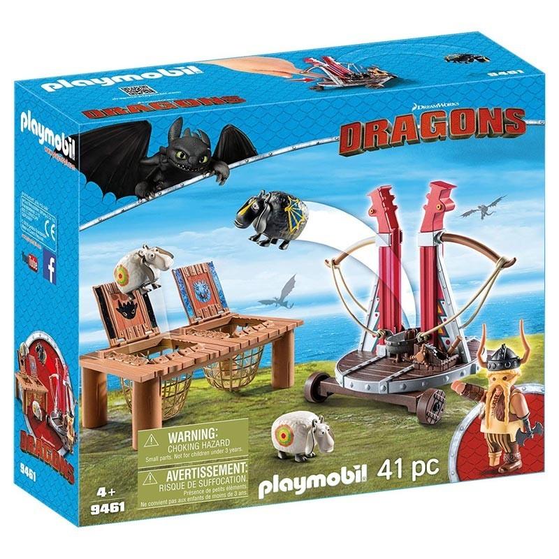 Playmobil 9461. Bocón con Lanzadera de Ovejas
