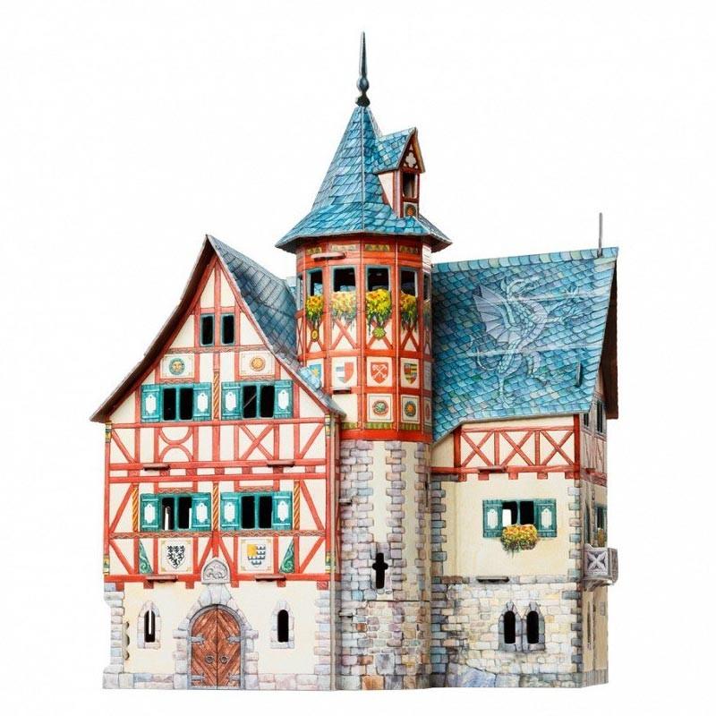Keranova 14414. Puzzle 3D Ayuntamiento Nuevo