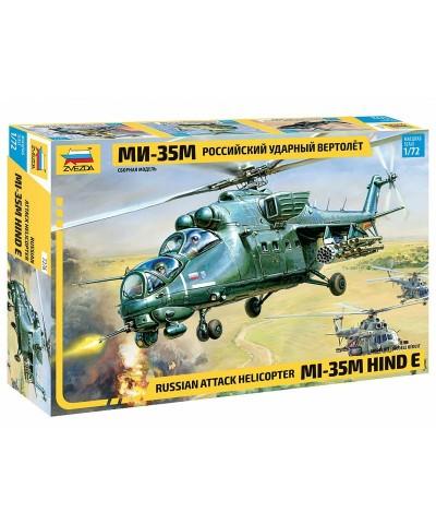Zvezda 7276. 1/72 Helicóptero Mi-35M Ruso