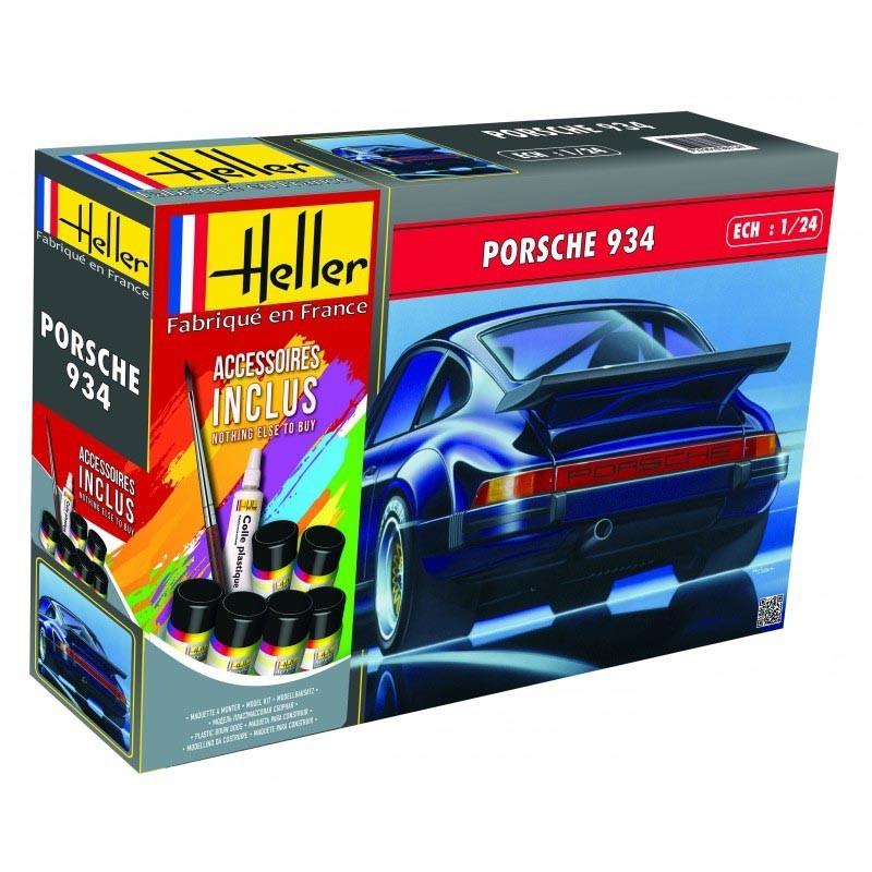 Heller 56714. 1/24 Kit Coche Porsche 934