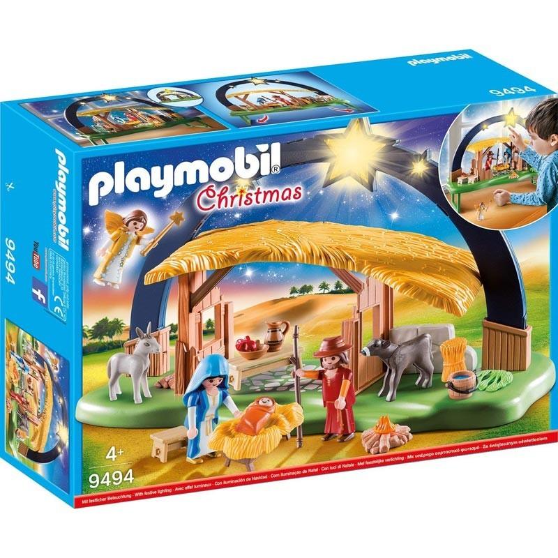 Playmobil 9494. Belén con Luz