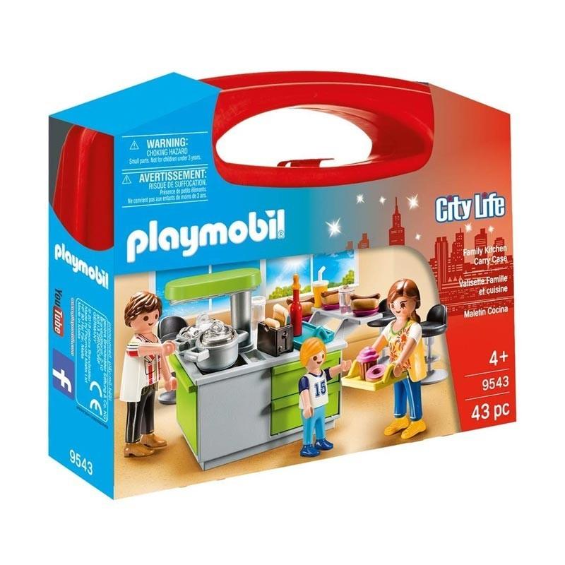 Playmobil 9543. Maletín Cocina