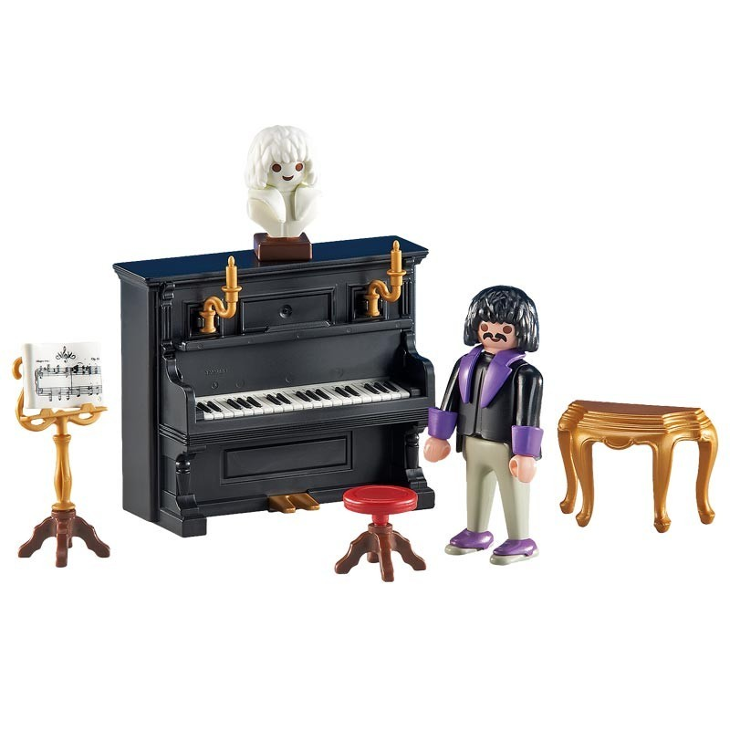 Playmobil 6527. Pianista con Piano Victoriano