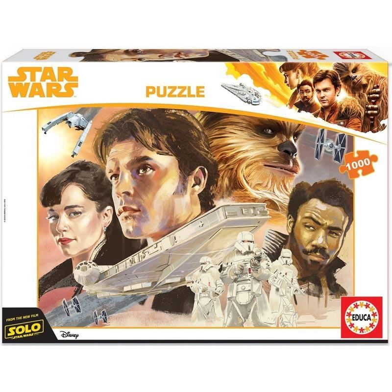 Educa 17682. Puzzle 1000 piezas Han Solo