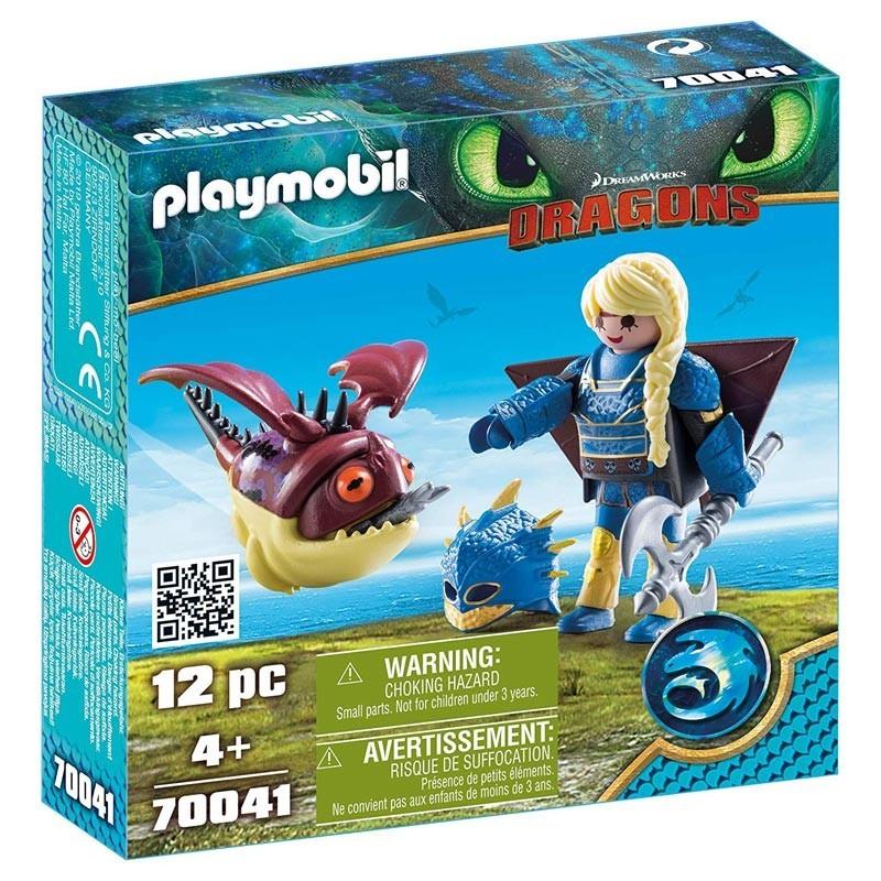 Playmobil 70041. Astrid con Globoglob