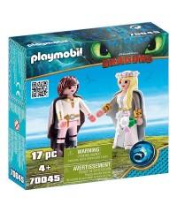 Playmobil 70045. Hipo y Astrid