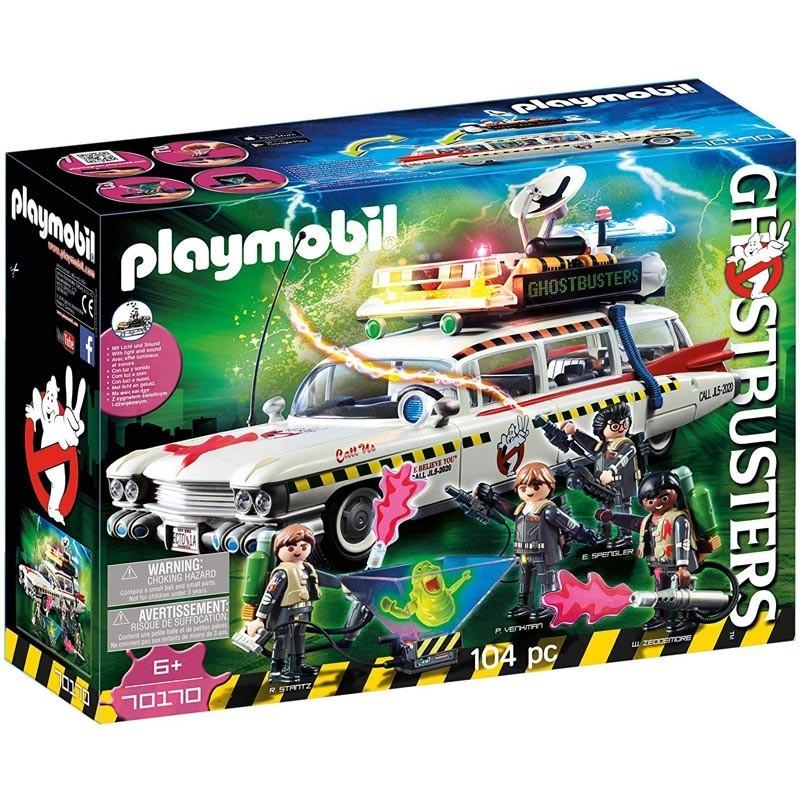 Playmobil 70170. Coche Ecto-1A Cazafantasmas