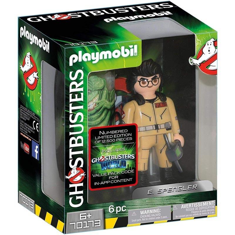Playmobil 70173. Figura Cazafantasma Coleccionable E. Spengler