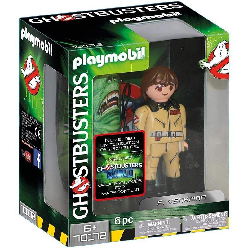 Playmobil 70172. Figura Cazafantasma Coleccionable P. Venkman