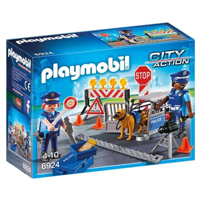 Playmobil 6924. Control de Policía