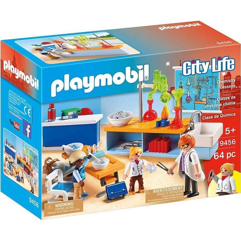 Playmobil 9456. Clase de Química
