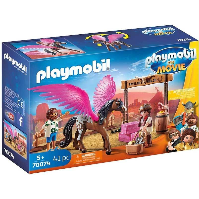 Playmobil 70074. Marla, Del y Caballo con Alas