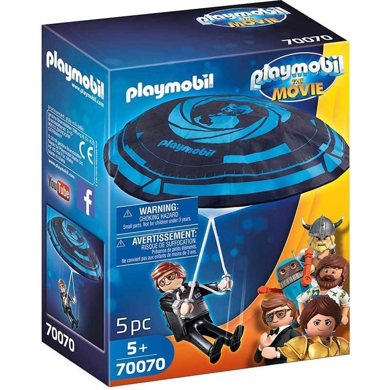 Playmobil 70070. Rex Dasher con Paracaídas