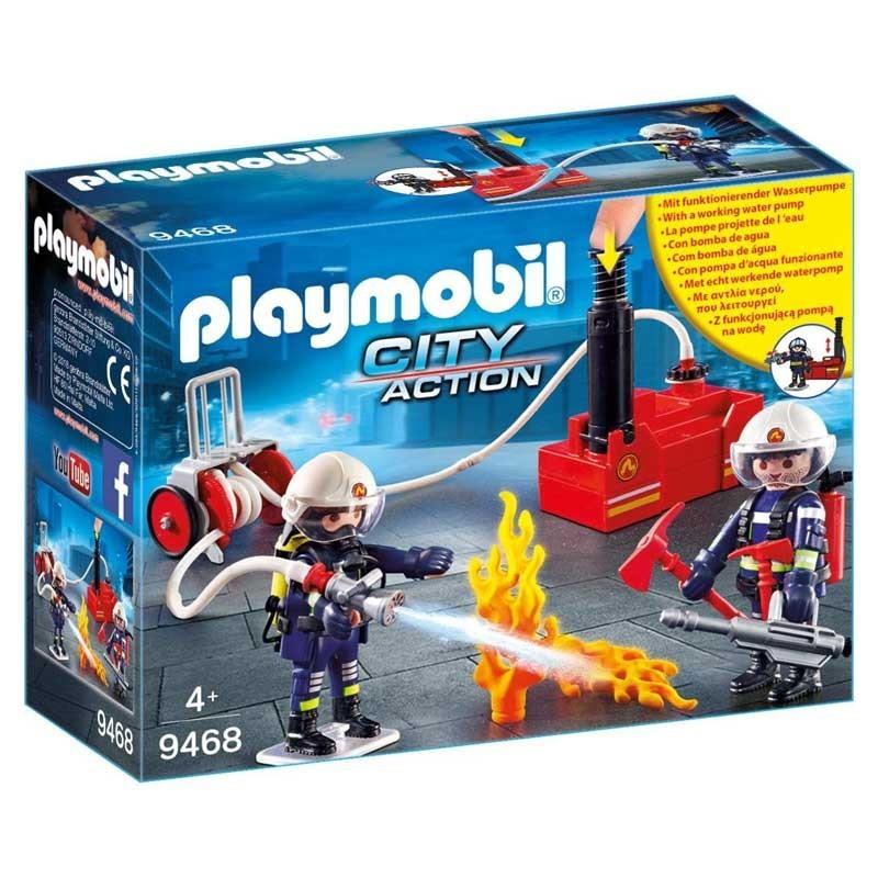 Playmobil 9468. Bomberos con Bomba de Agua