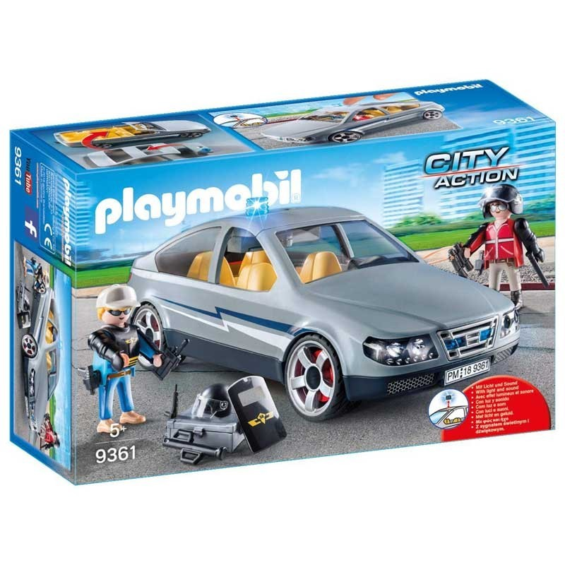 Playmobil 9361. Coche Civil de las Fuerzas Especiales