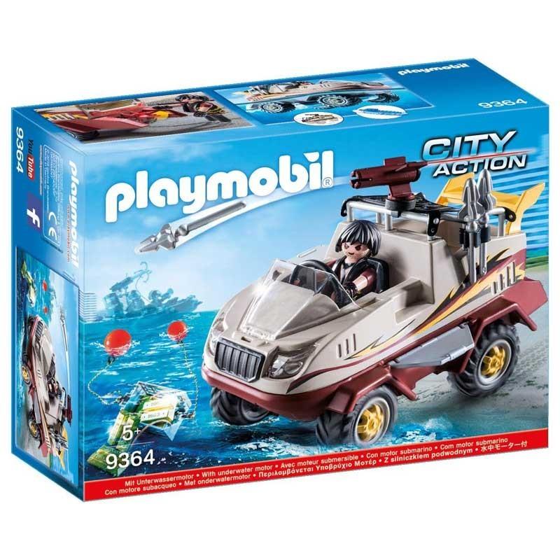 Playmobil 9364. Coche Anfibio
