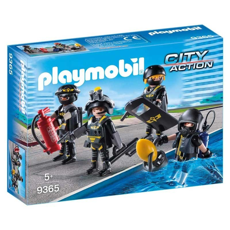 Playmobil 9365. Equipo de las Fuerzas Especiales