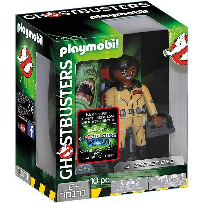 Playmobil 70171. Figura Cazafantasma Coleccionable W. Zeddemore