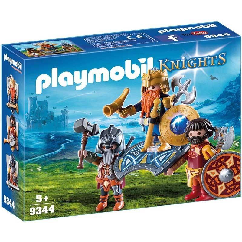 Playmobil 9344. Rey de los Enanos