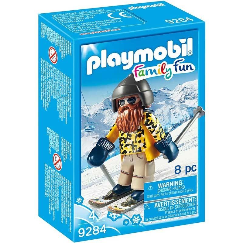 Playmobil 9284. Esquiador con Snowblades