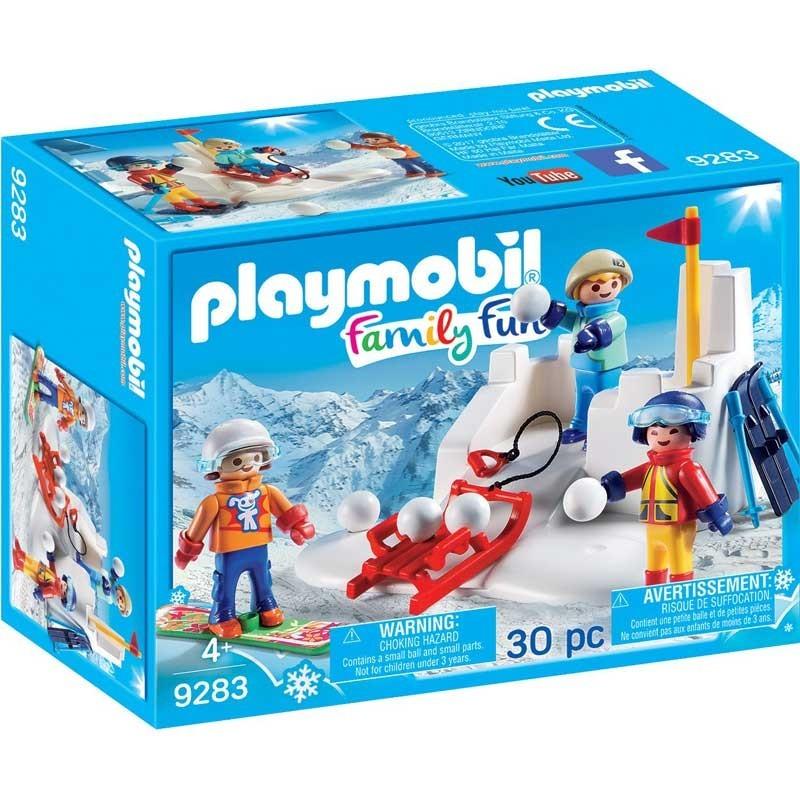 Playmobil 9283. Lucha de Bolas de Nieve