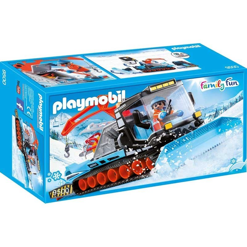 Playmobil 9500. Quitanieves