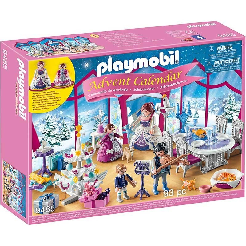 Playmobil 9485. Calendario Adviento Baile de Navidad