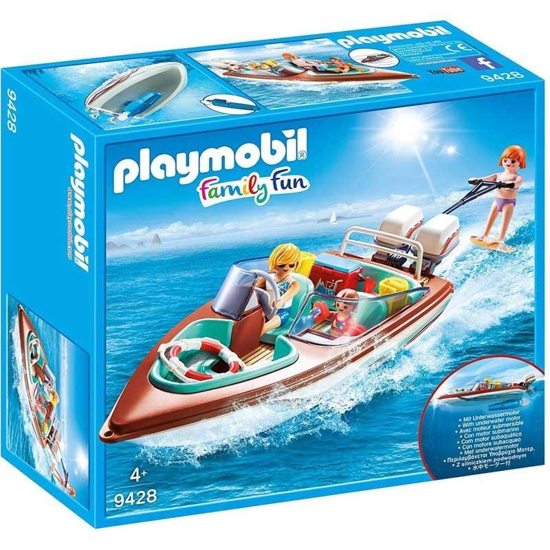 Playmobil 9428. Lancha Motora con Motor Submarino