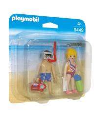 Playmobil 9449. Niños en la Playa