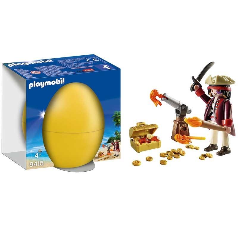 Playmobil 9415. Huevo Pirata con Cañón