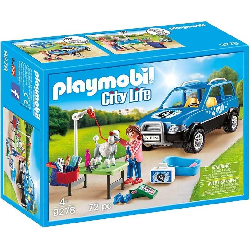 Playmobil 9278. Coche Lavandería de Perros